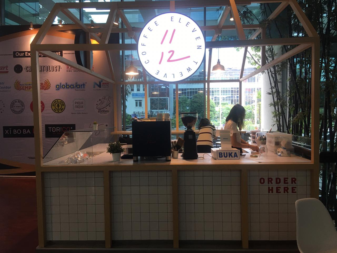 11.12 Coffee shop front in lippo mall puri st. moritz