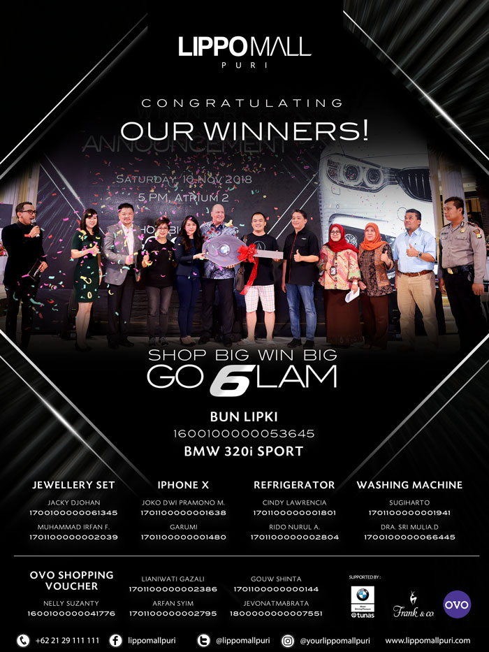 shop big win big go glam in lippo mall puri st. moritz