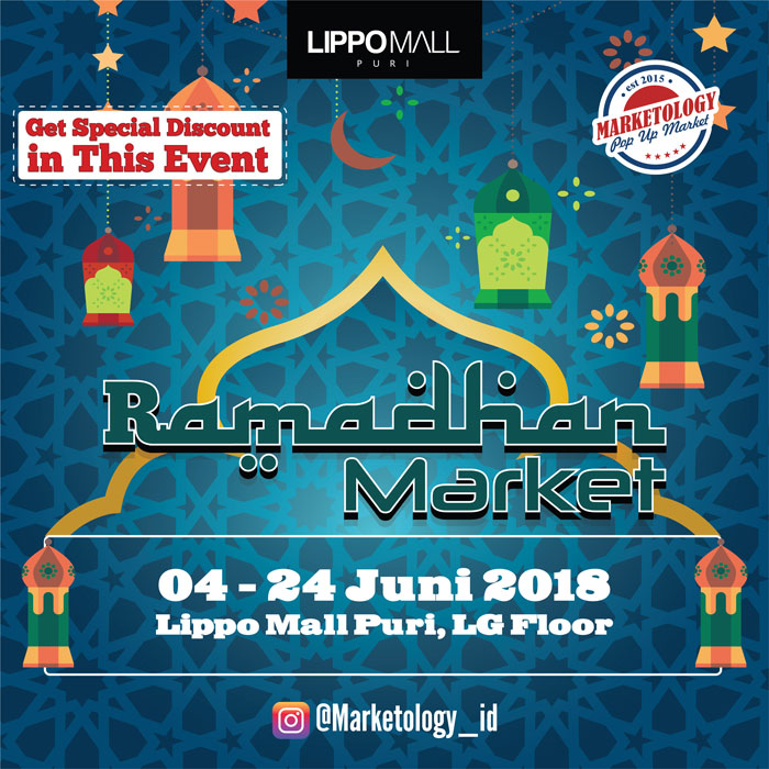 ramadhan market by marketology in lippo mall puri st. moritz