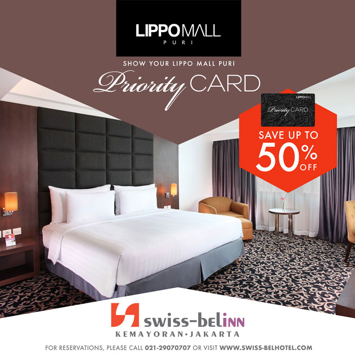 swiss belin promo in lippo mall puri st. moritz with priority card