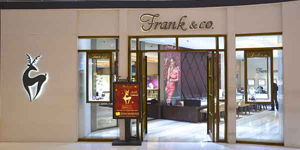 Frank & Co. shop front in lippo mall puri st. moritz