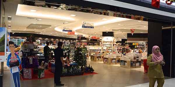 Gramedia Shop Front In Lippo Mall Puri St Moritz