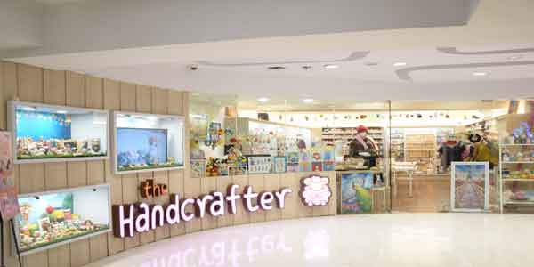 The Handcrafter shop front in lippo mall puri st. moritz