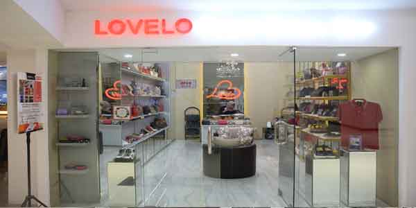 Lovelo Spa shop front in lippo mall puri st. moritz