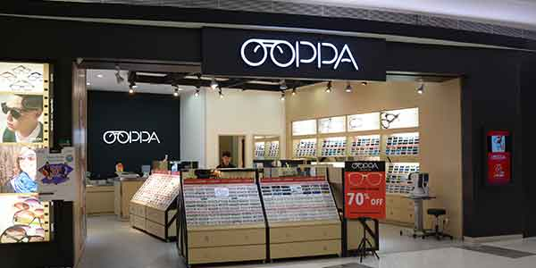 Ooppa shop front in lippo mall puri st. moritz