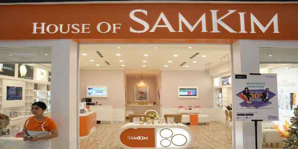 House of Samkim shop front in lippo mall puri st. moritz