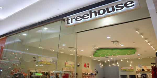 Tree House shop front in lippo mall puri st. moritz