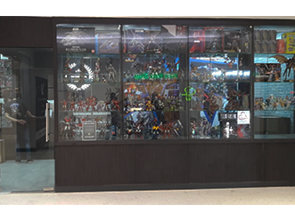Victory Toys shop front in lippo mall puri st. moritz