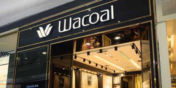 Wacoal shop front in lippo mall puri st. moritz