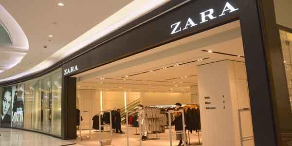 Zara shop front in lippo mall puri st. moritz f717716369