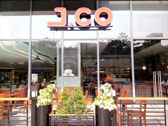 J.CO shop front in lippo mall puri st. moritz