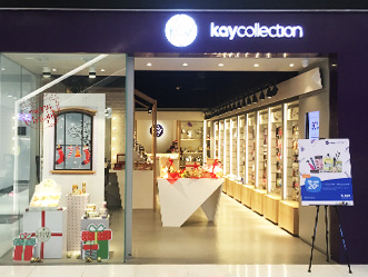 Kay Collection shop front in lippo mall puri st. moritz