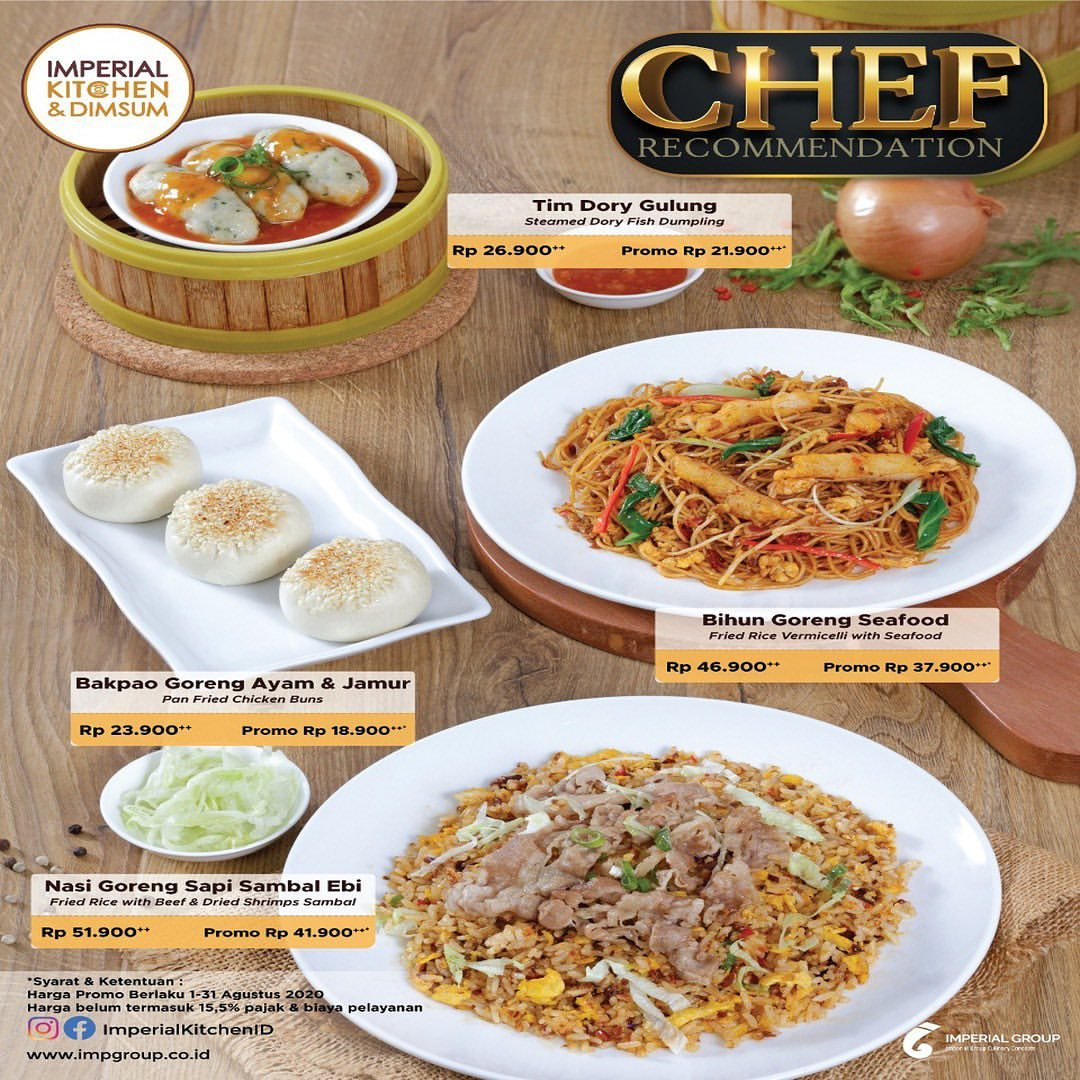 Imperial Kitchen Promo in lippo mall puri st. moritz