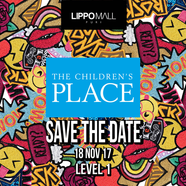 the children place promo in lippo mall puri st. moritz