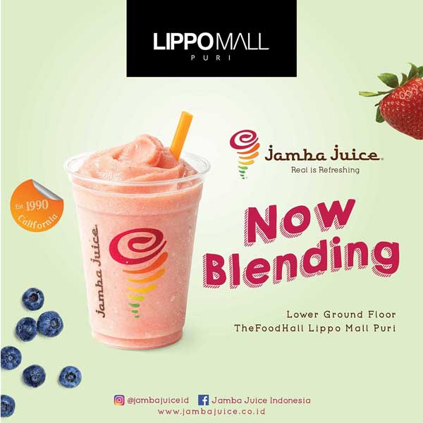 food hall promo in lippo mall puri st. moritz