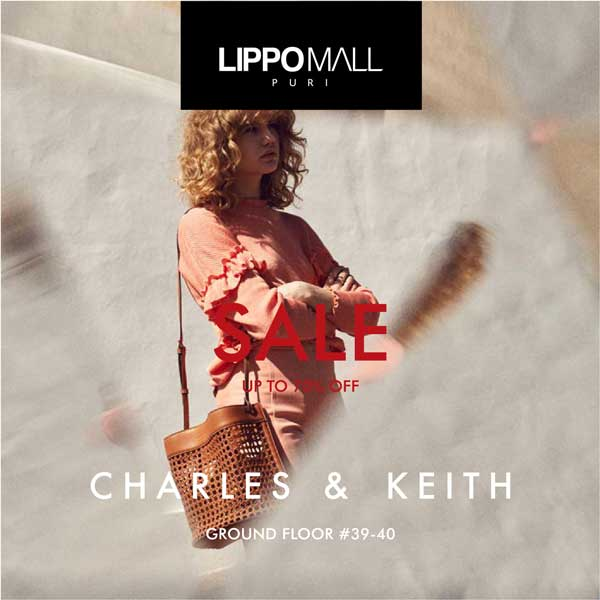 charles & keith promo in lippo mall puri st. moritz