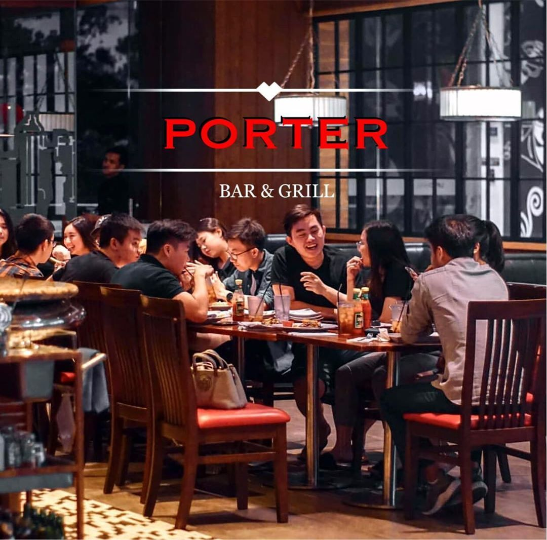 Porter now open in lippo mall puri st. moritz