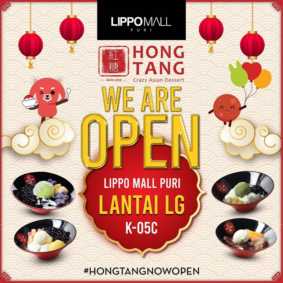 Hong Tang Now Open in lippo mall puri st. moritz