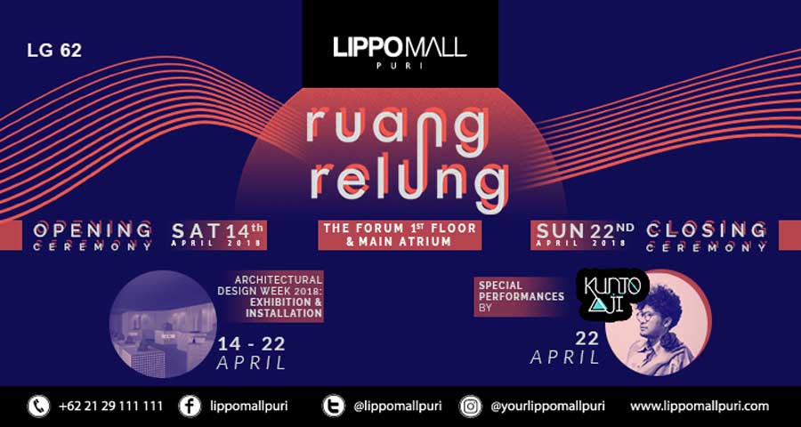 ruang relung architectural design 233k 2018 event in lippo mall puri st. moritz
