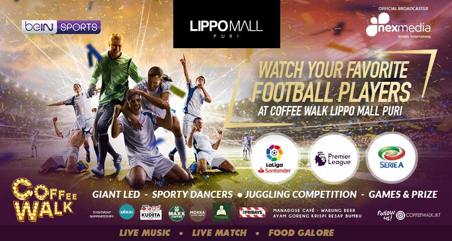 live match epl in lippo mall puri st. moritz