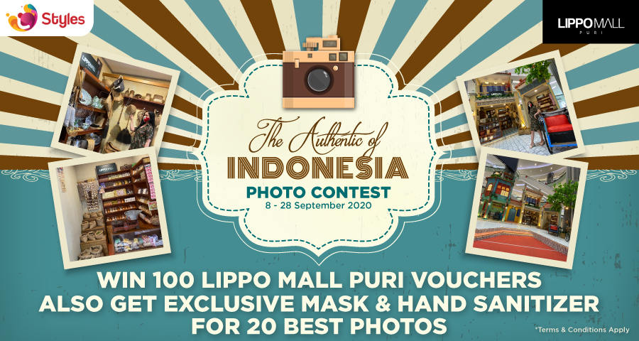 Photo Contest Promo in lippo mall puri st. moritz