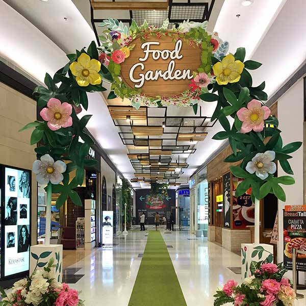 food garden event in lippo mall puri st. moritz