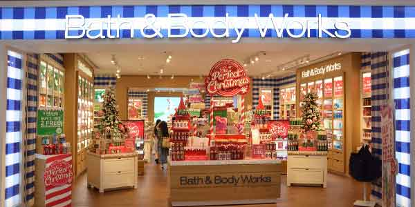 Bath&Body Works shop front in lippo mall puri st. moritz