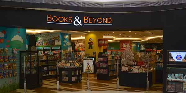 Books & Beyond shop front in lippo mall puri st. moritz