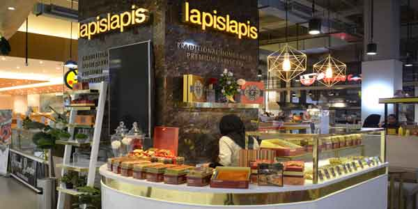 Lapis Lapis shop front in lippo mall puri st. moritz