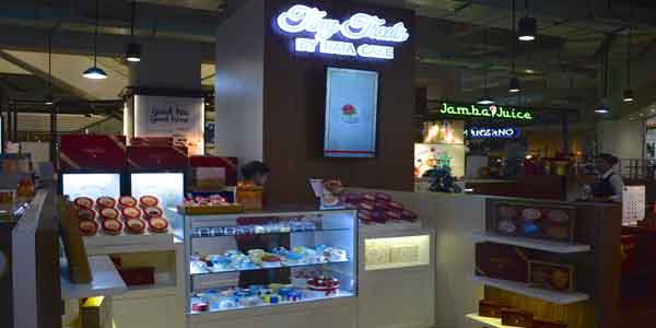 Tiny Treats shop front in lippo mall puri st. moritz