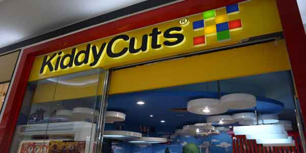 Kiddy Cuts shop front in lippo mall puri st. moritz
