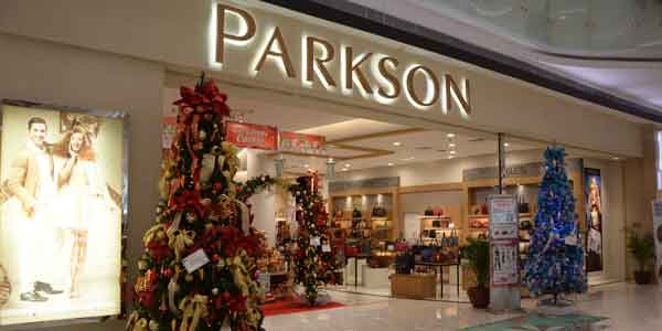 Parkson shop front in lippo mall puri st. moritz