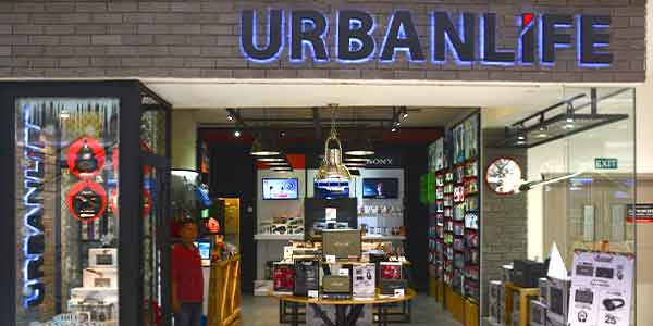 Urban Life shop front in lippo mall puri st. moritz