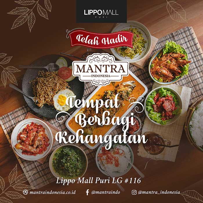 Mantra Indonesia now open in lippo mall puri st. moritz