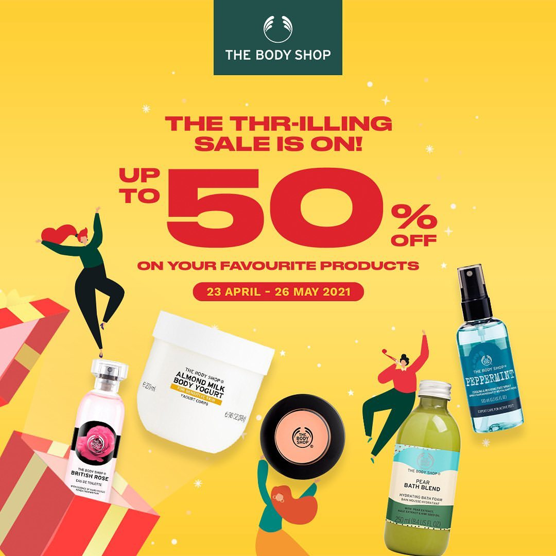 The Body Shop Promo in lippo mall puri st. moritz