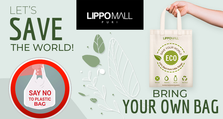Bring your own bag Promo in lippo mall puri st. moritz